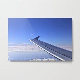 Aerial image III Metal Print