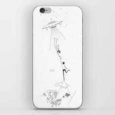 meeting place iPhone & iPod Skin