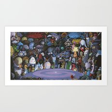 The God Particle Art Print
