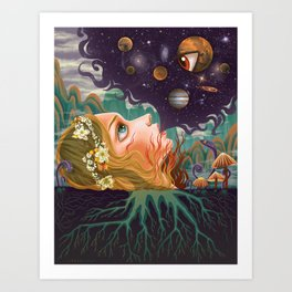 Another Dimension Art Print