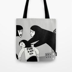 Punk is Not Ded! Tote Bag