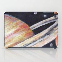 saturn iPad Cases featuring Saturn by Quinn Shipton