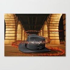 Hat and Triads Canvas Print