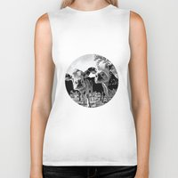 cows Biker Tanks featuring Funny Cows by George Peters
