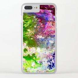 Mur No. 3 Clear iPhone Case