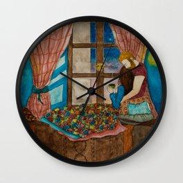 A Lovely Evening Wall Clock