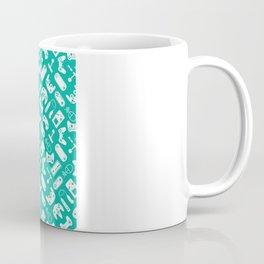 Control Your Game - Turquoise Coffee Mug