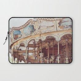 Paris Carousel Laptop Sleeve