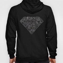 Black Diamond 14 Life Quotes Hoody
