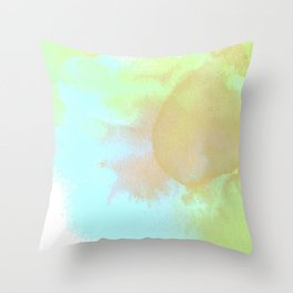 Nature Natural Flower Floral Blue Pansy Throw Pillow