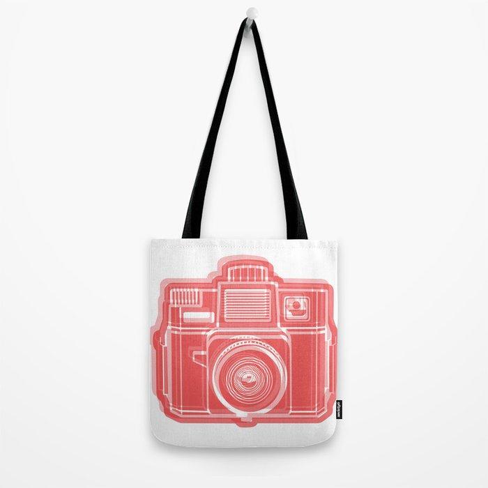 I Still Shoot Film Holga Logo - Red Tote Bag