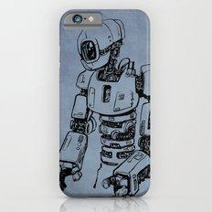 Pensive Robot (Dark) iPhone 6s Slim Case