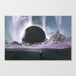 Stare Into An Abyss Canvas Print