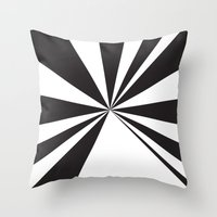 pyramid Throw Pillows featuring Pyramid by Vadeco