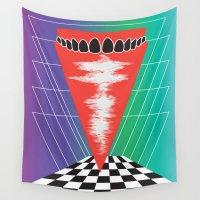teeth Wall Tapestries featuring .Teeth by Daeton Hebert