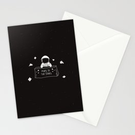 Selling Maps to the Stars Stationery Cards
