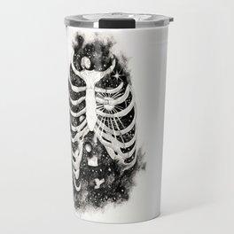 Space inbetween the ribs Travel Mug