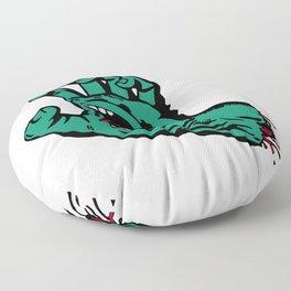 CATCH AND BITE Floor Pillow