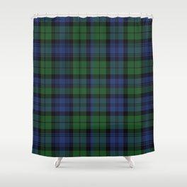Clan Campbell Tartan Shower Curtain
