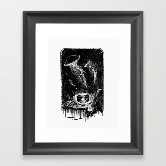 Underwater Vision Framed Art Print