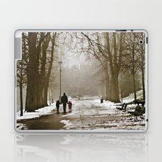 A walk through the park II Laptop & iPad Skin