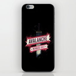 Final Fantasy VII - Avalanche Member's Only iPhone Skin