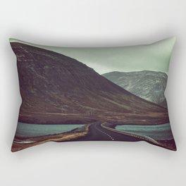 Mountain Landscape Rectangular Pillow