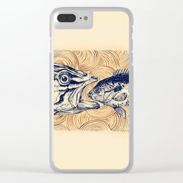 Ocean drama Clear iPhone Case