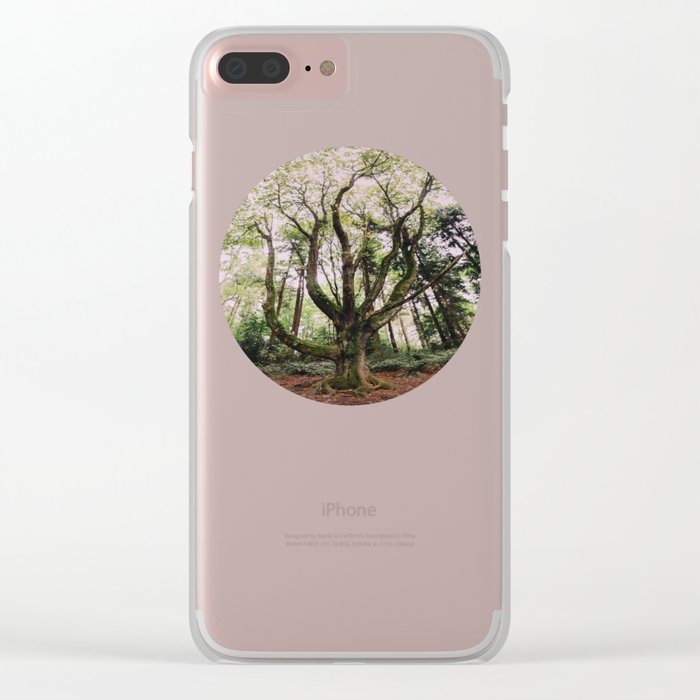 Forest Magic Clear iPhone Case