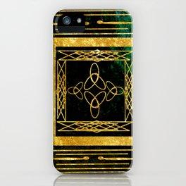 Folk Art Deco iPhone Case