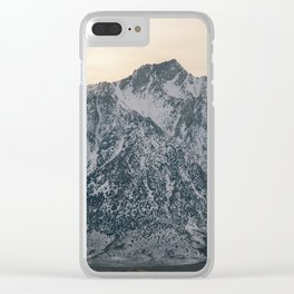 Mt. Whitney at Sunset Clear iPhone Case
