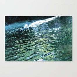 like a rivulet 02 Canvas Print