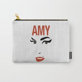 Amy Back to Black Carry-All Pouch