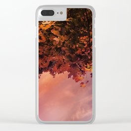 Ready for the Fall Clear iPhone Case