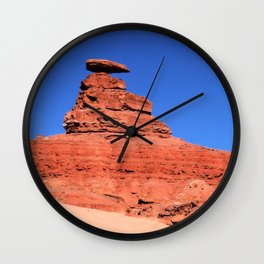 Mexican Hat Rock Formation: Utah Wall Clock