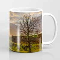 scotland Mugs featuring Cathedral Scotland by Sierra Whiskey Bravo