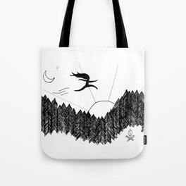 Night Jumps Tote Bag