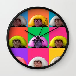 Derivative Wall Clock