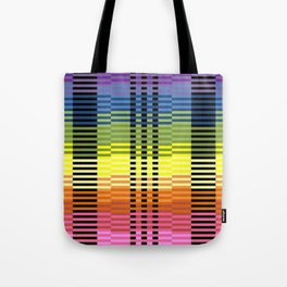 Patterns of Colors In Excel Tote Bag