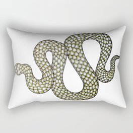 Snake's Charm Rectangular Pillow