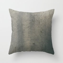geometal texture Throw Pillow