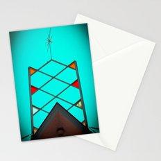 Atomic nostalgia Stationery Cards