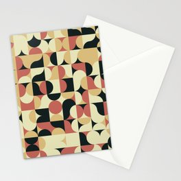 Abstract Geometric Artwork 41 Stationery Cards