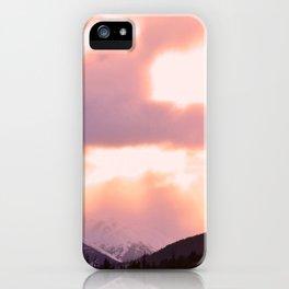 Rose Quartz Turbulence - II iPhone Case