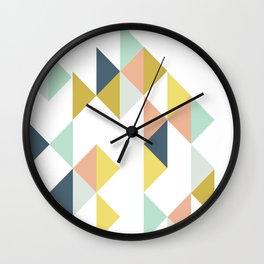 Modern Geometric Design Wall Clock
