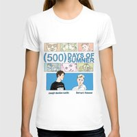 500 days of summer T-shirts featuring 500 Days of Sumner by StellaDays