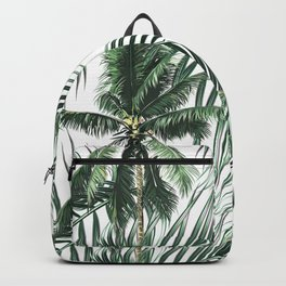 South Pacific palms Backpack