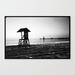 Beachwaves Canvas Print