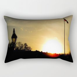 Plaza de Armas, New Orleans Rectangular Pillow