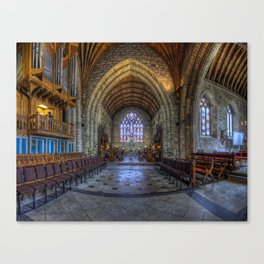 Welsh Cathedral Canvas Print
